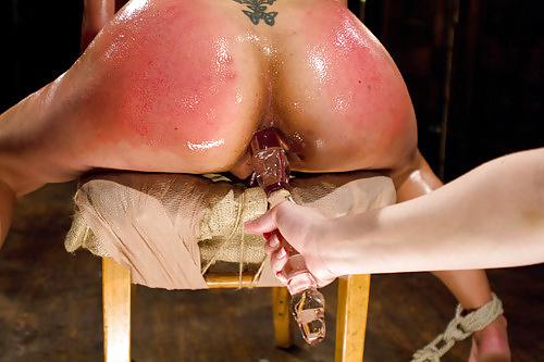 Anal torture porn
