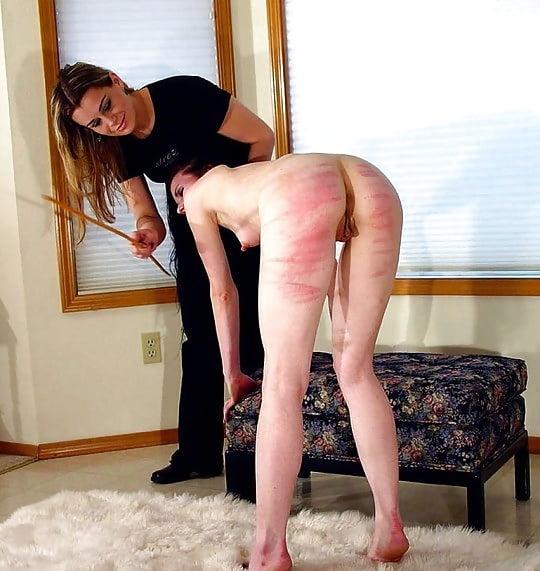 Spanked naked girls