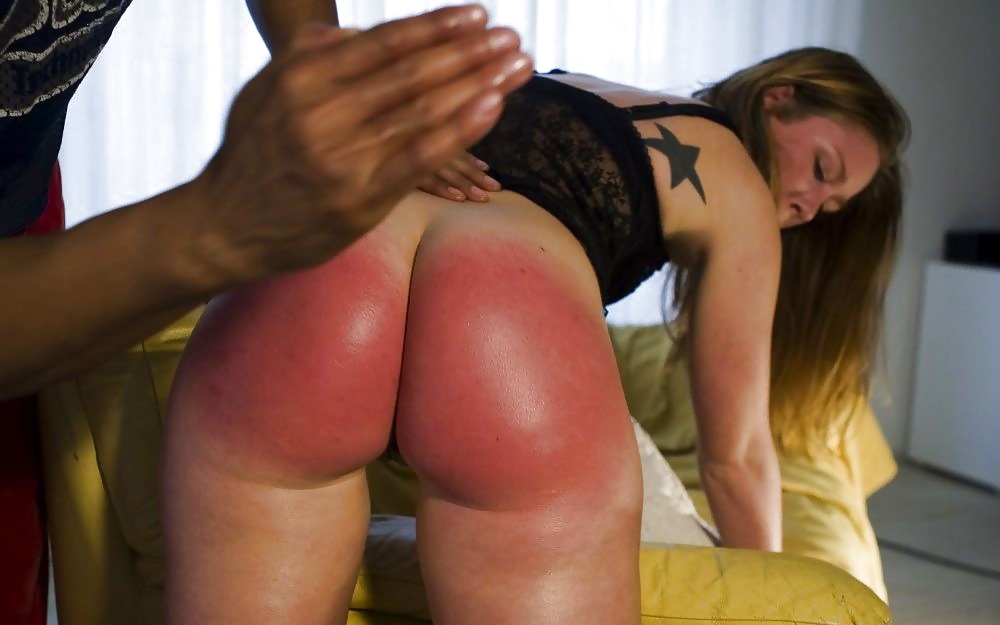 Allie sin spanked and fucked