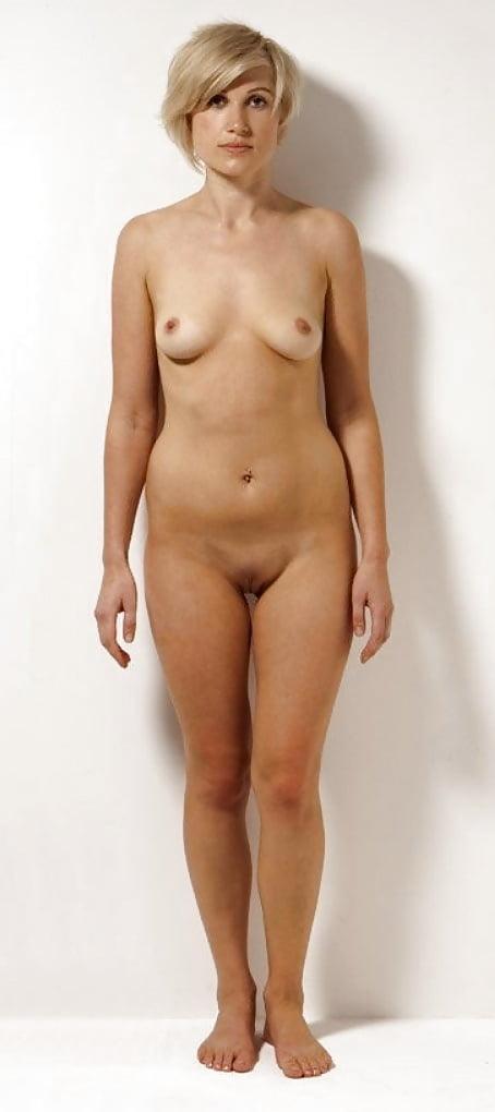 Cute Naked Standing Girl