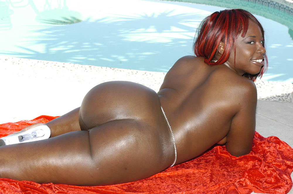 Beautiful Big Butt Black Women