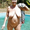 Granny has forgot to put her clothes  on again