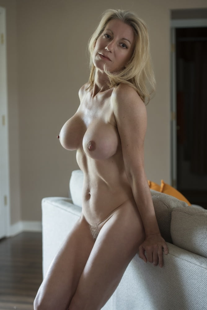 Naked Young Milf Getting Ready For Work