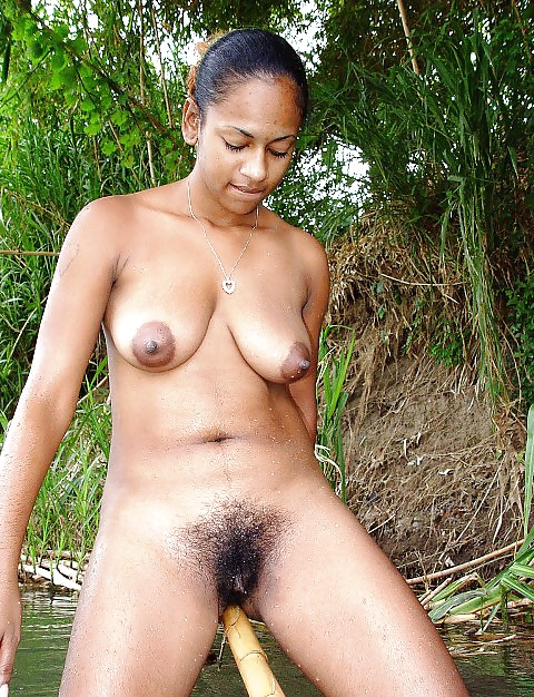 Indian hairy nudist