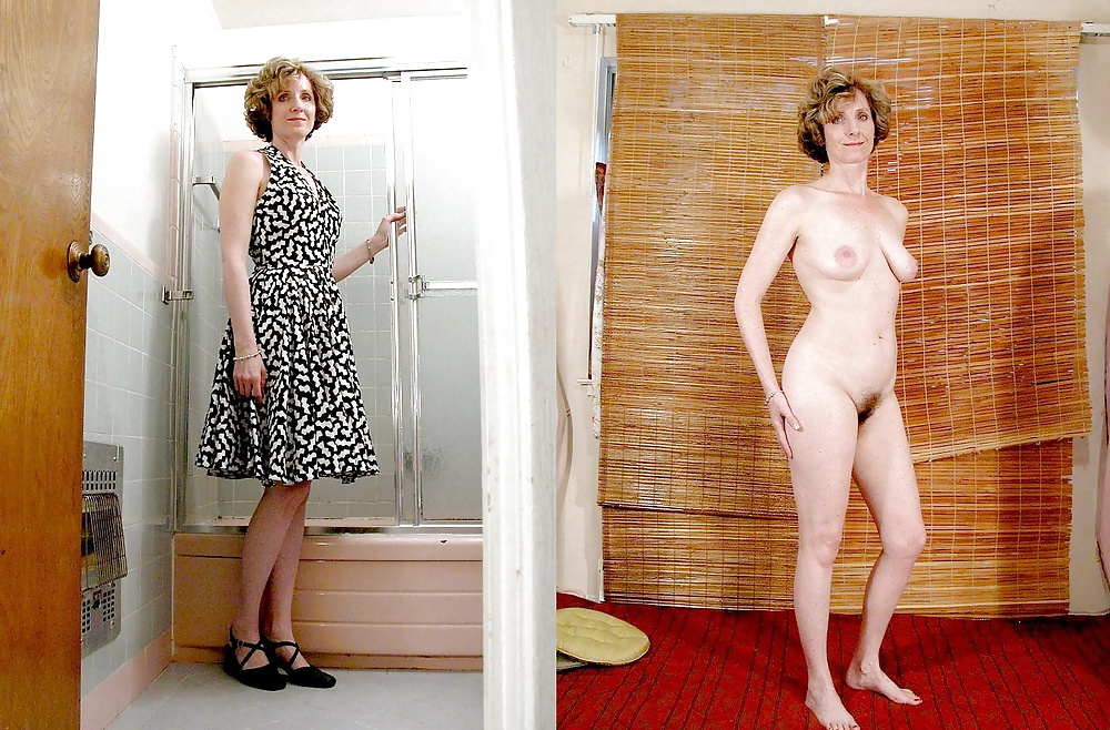 Naked women mature with clothed men #6