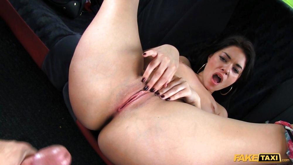 Ebony fake taxi porn-3911