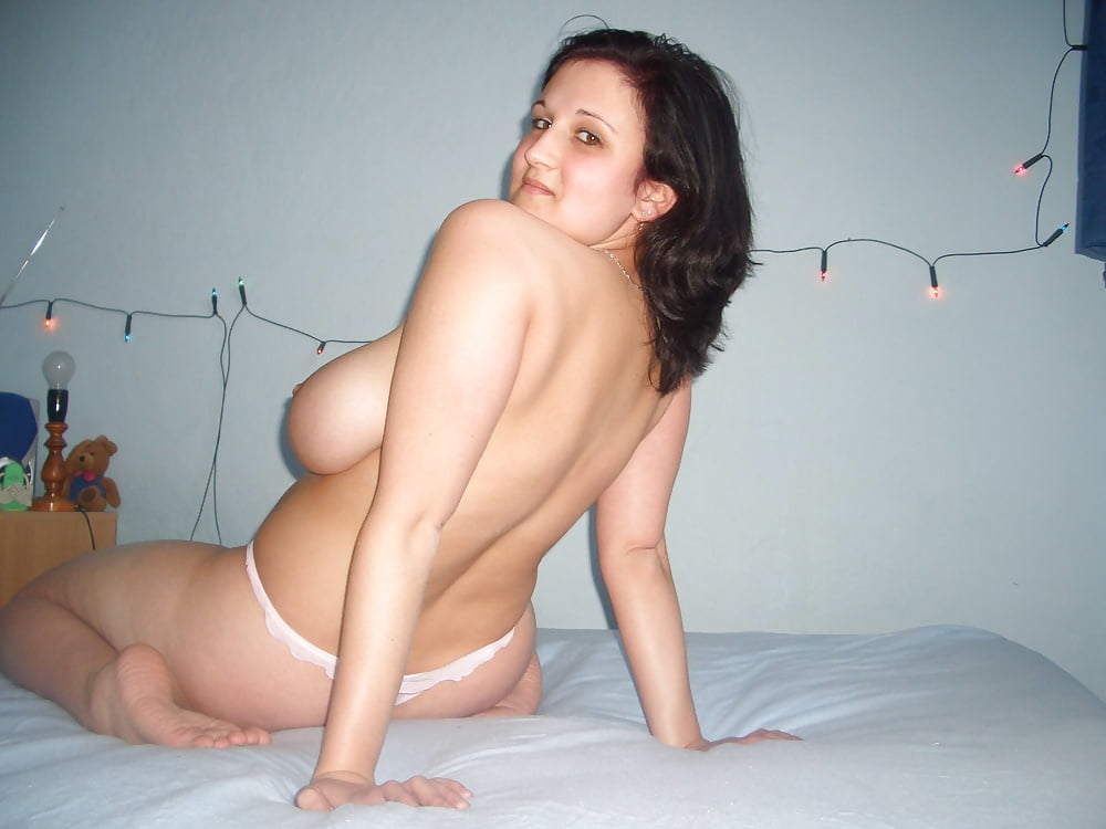 brunettes stripping Chubby