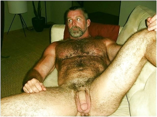 Naked hairy dads