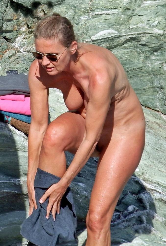 Naked milf beach