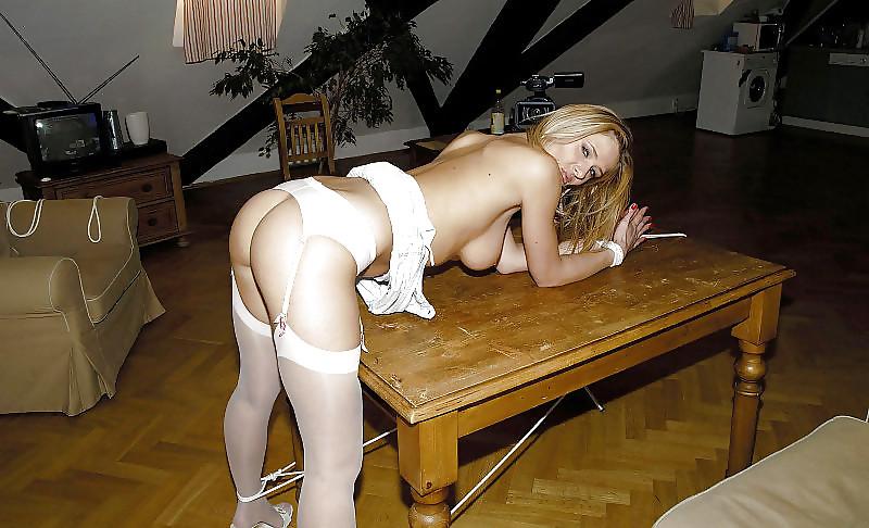 Naked girls tied bent over, teen girl panty cum