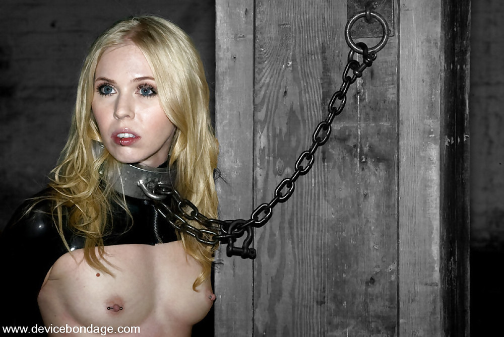 Bound highheels blonde slave milf tiedup bdsm bondage sub submissive outdoor fuckwhore