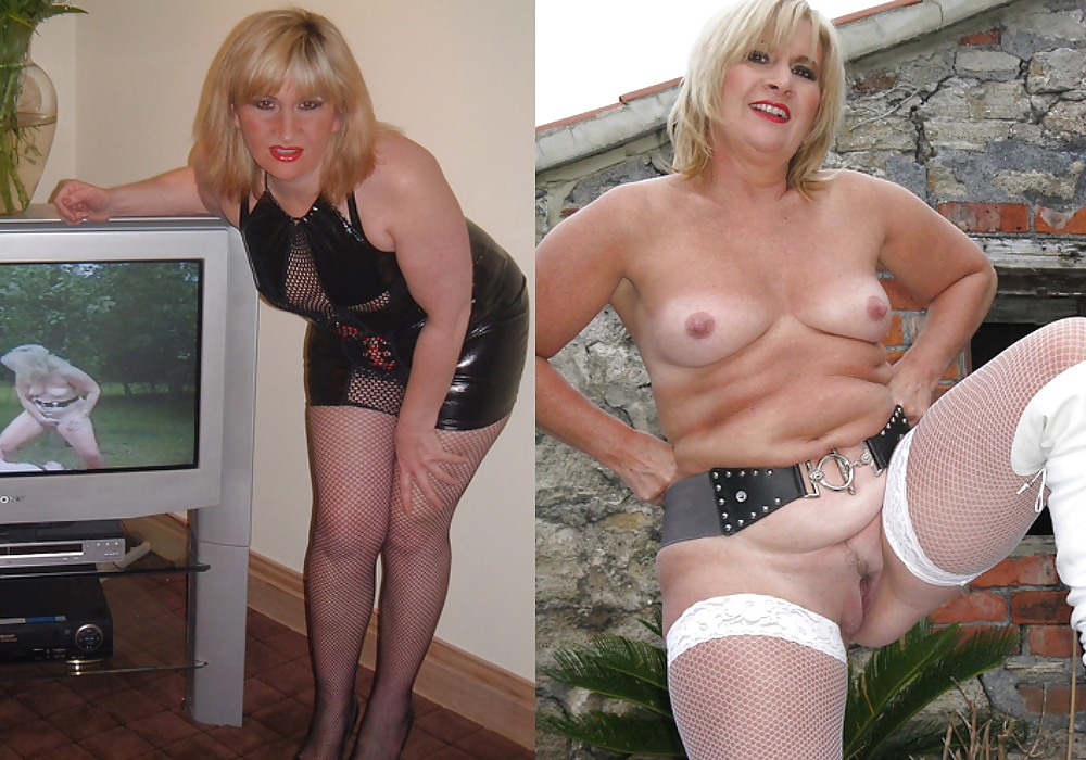 Dressed undressed milf pics