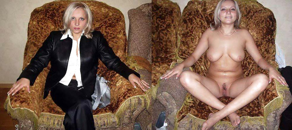 Amateur milf dressed and undressed idea