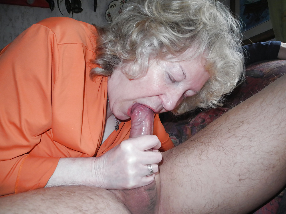 Old lady blowjob 2