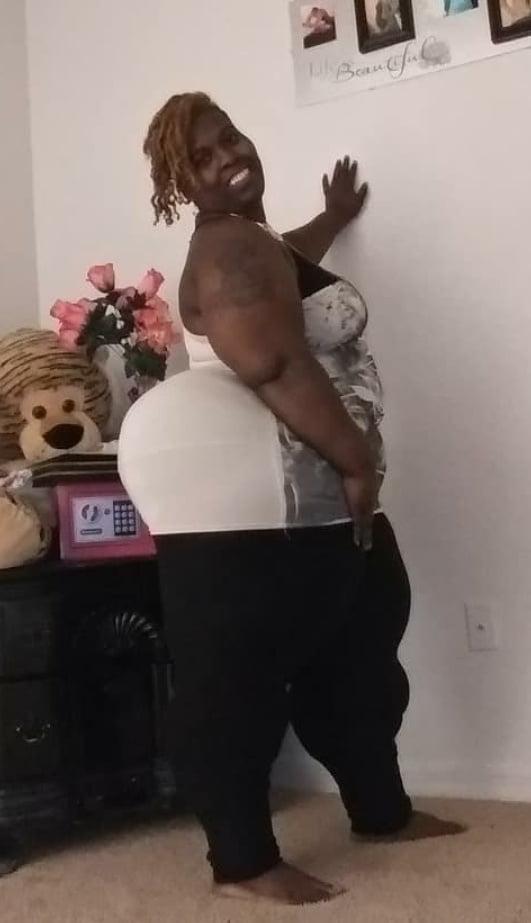 Giant white booty