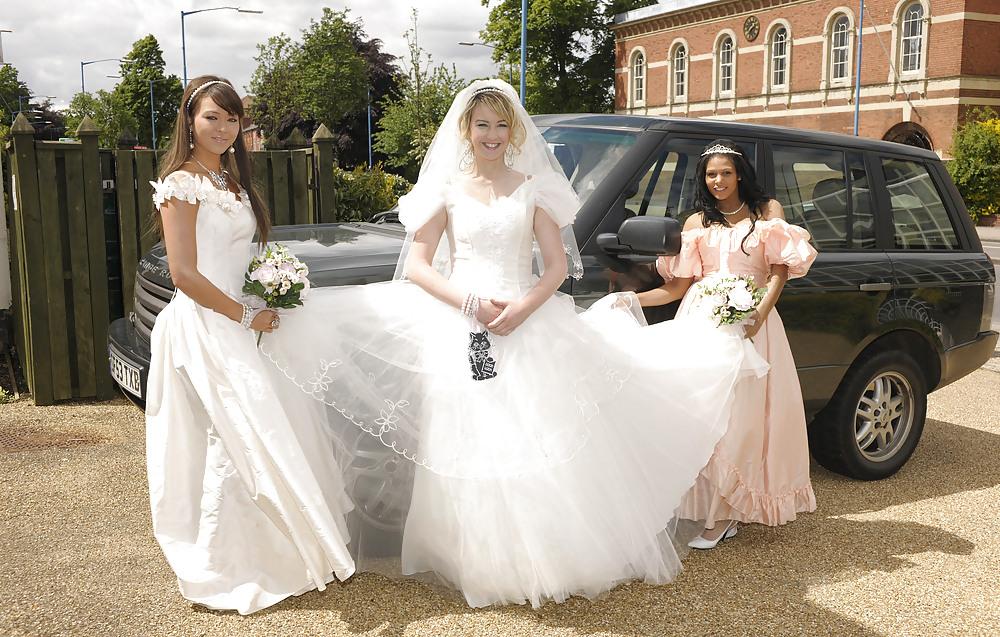 Lesbian wedding first night