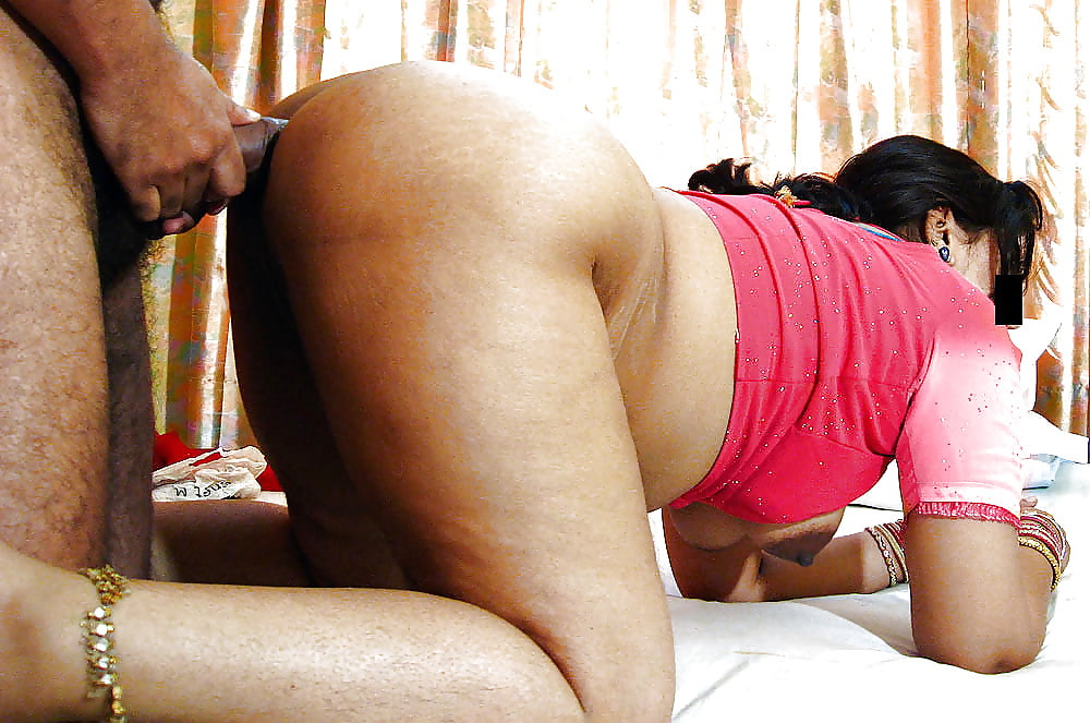 Indian aunty touching