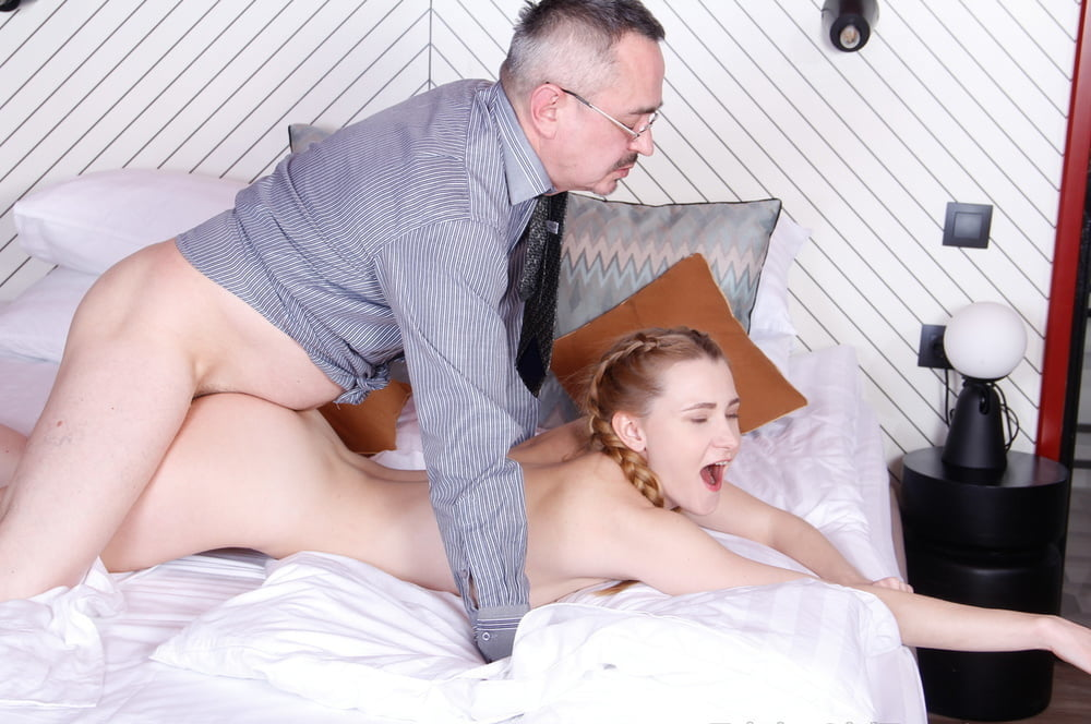 Sweet Teen Is Horny For Her Teacher's Old Cock