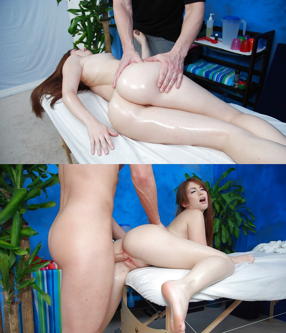 Relaxxing massage turns erotic