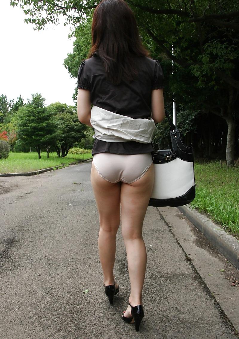 Asian Girls On Tight Panties Upskirt Voyeur Street - 230 -6909