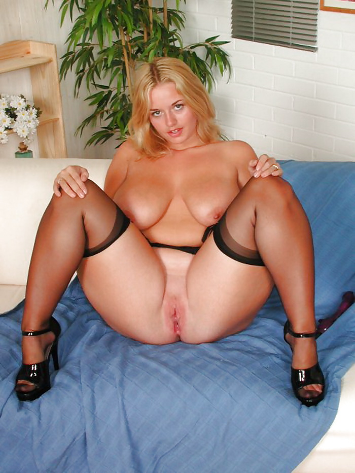 Version bbw stockings heels