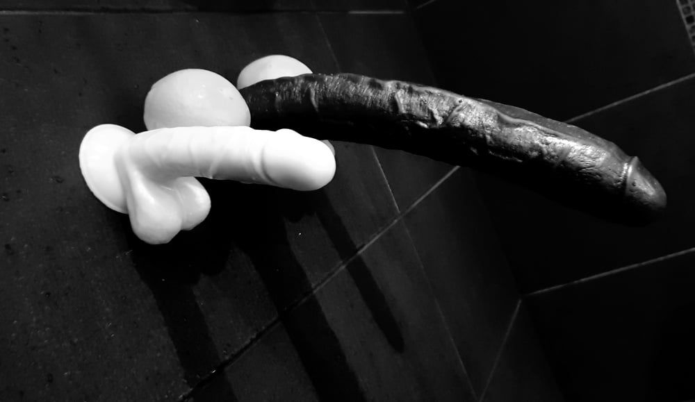 Objects for makeshift dildos
