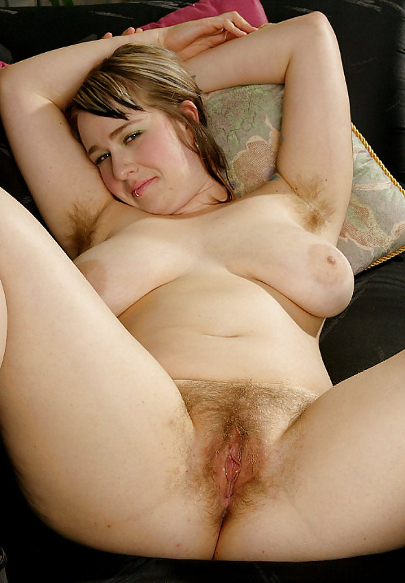 Teen With Fat Hairy Pussy