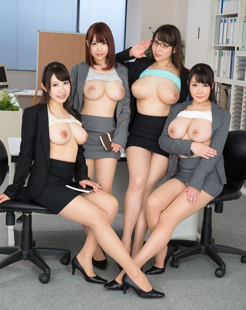 Naked hot asian girls in office suites, porn squirting image