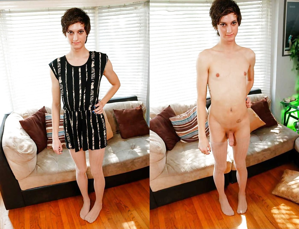 Naked twink clothed females