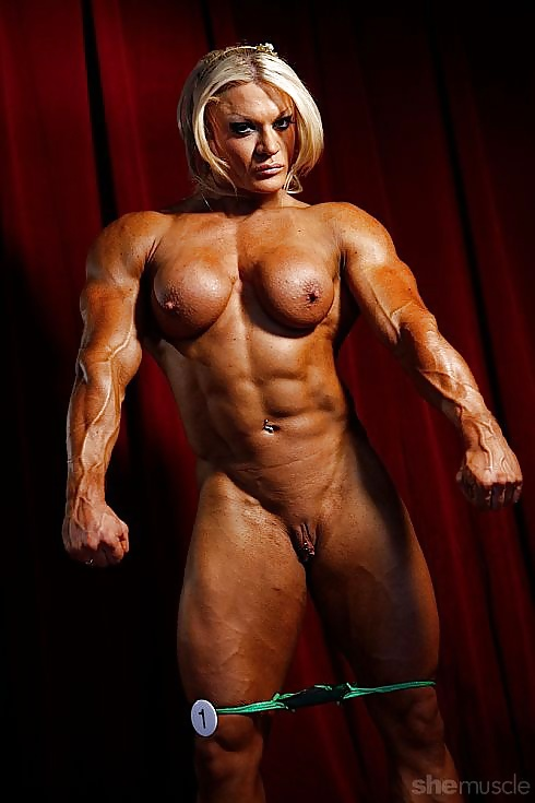 Nude bodybuilding porn photo