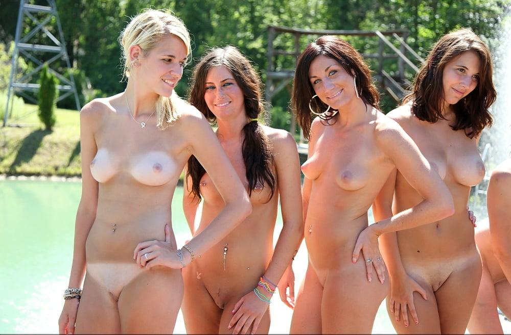 Nudist backyard water backdrop - 33 Pics