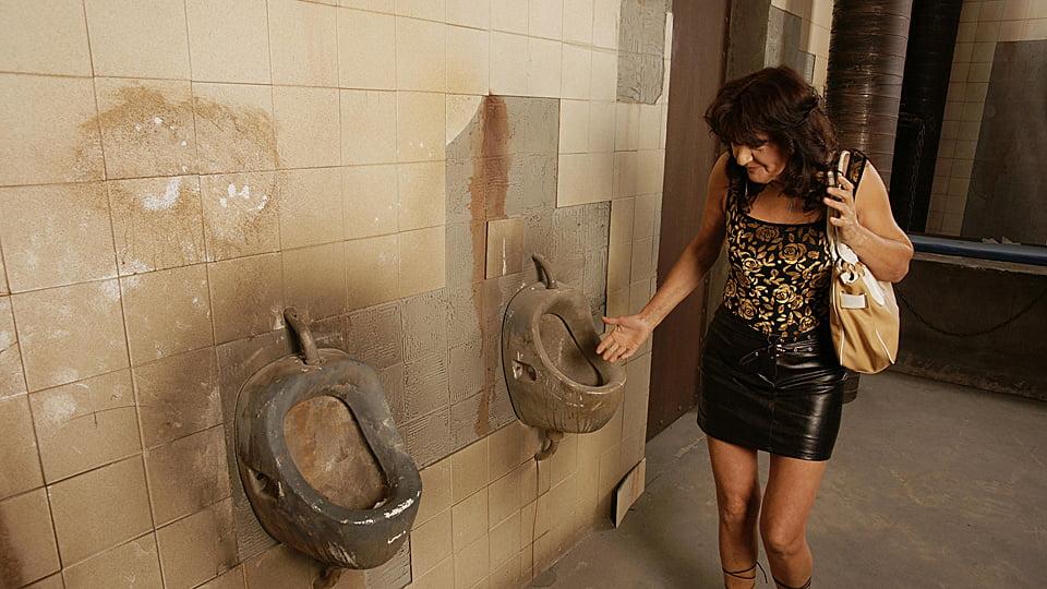 Супер соблазнение в общественном туалете