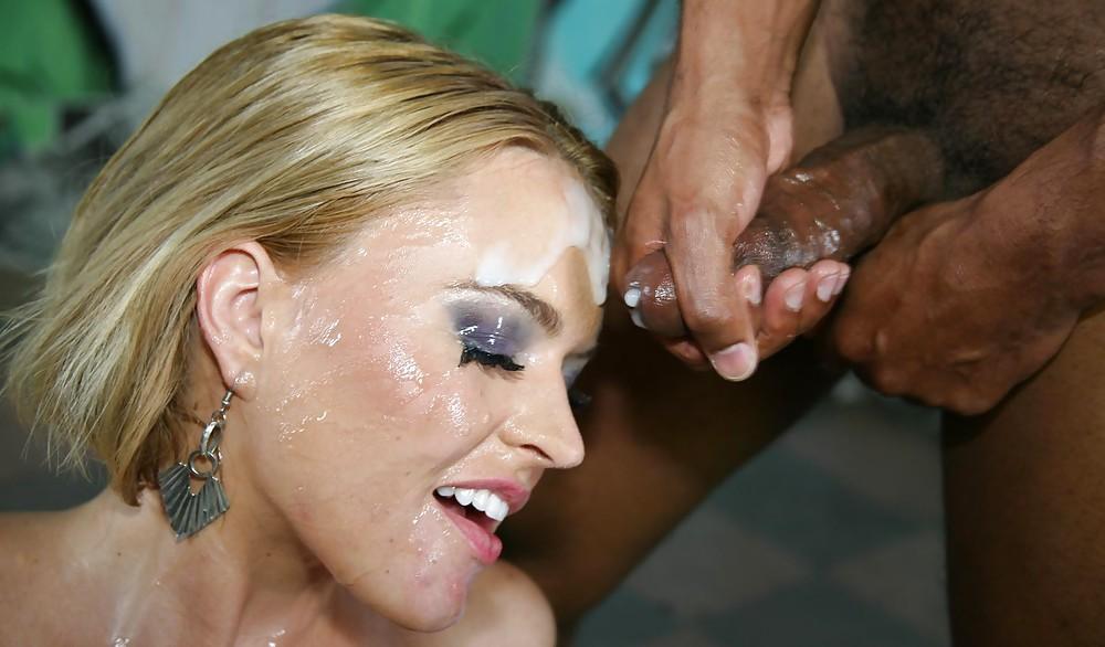 Milf facial interracial sex pictures — photo 3