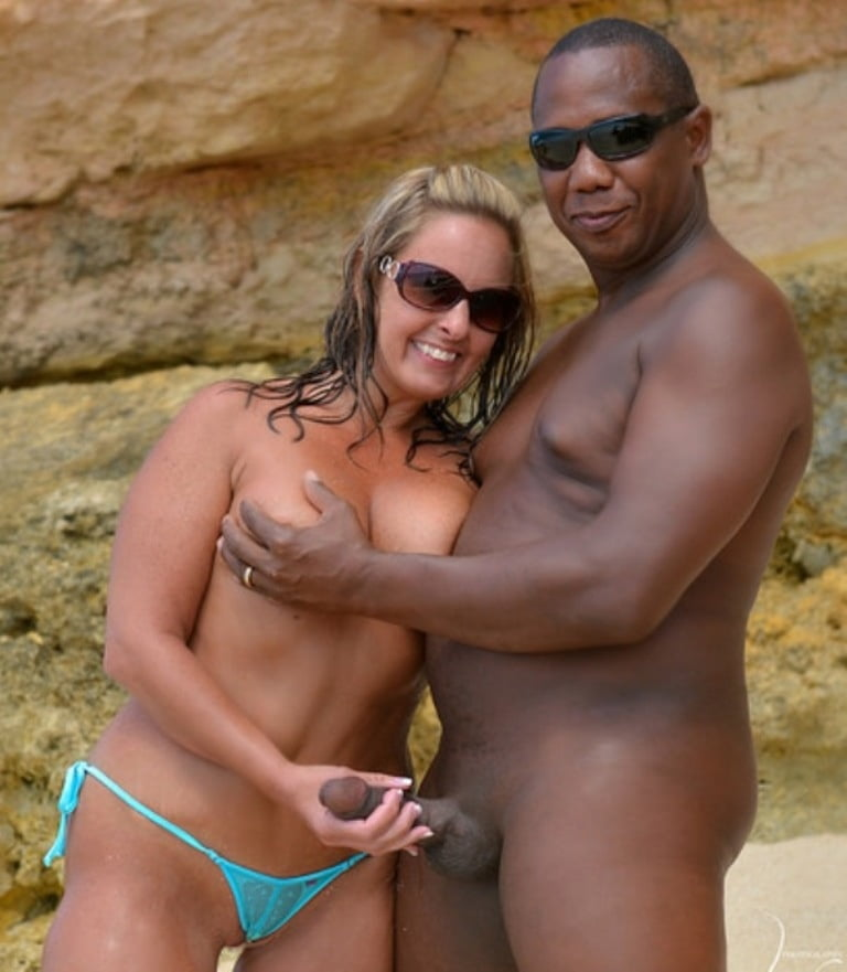 Husband And Wife Having Sex On The Beach