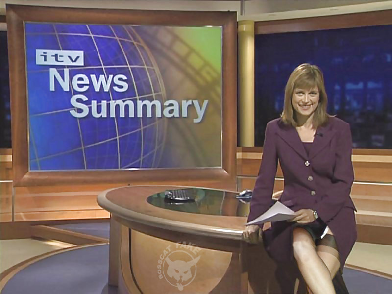 And young news reader milf lapdance