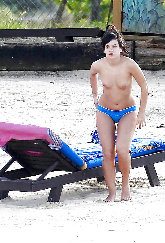 Lily allen nude fakes