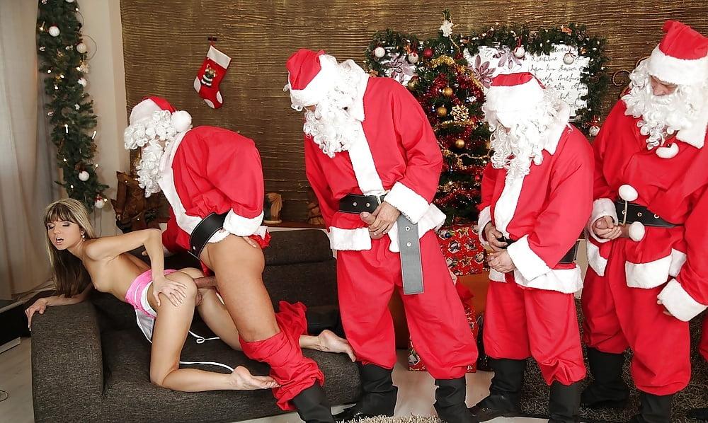 Фото отдых на новогодней вечеринке эротика — 5
