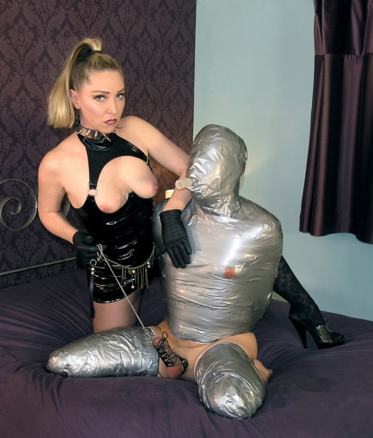 Mistress Sidonia Von Bork doing what she does best. - 51 Pics