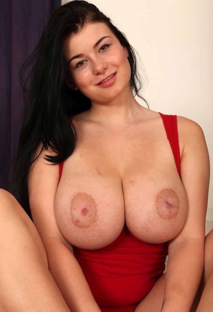 Lucy Li Posing With Red Car And Huge Boobs From Sweet Models Drtuber 1