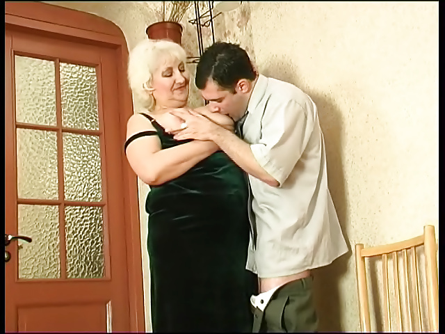 Wife catches her man fucking her mom-5446