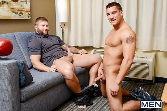 free gay hung kiss porn video