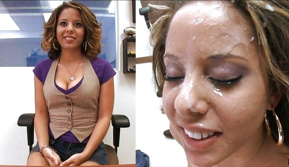 Gilf Facial Cumshots Before After