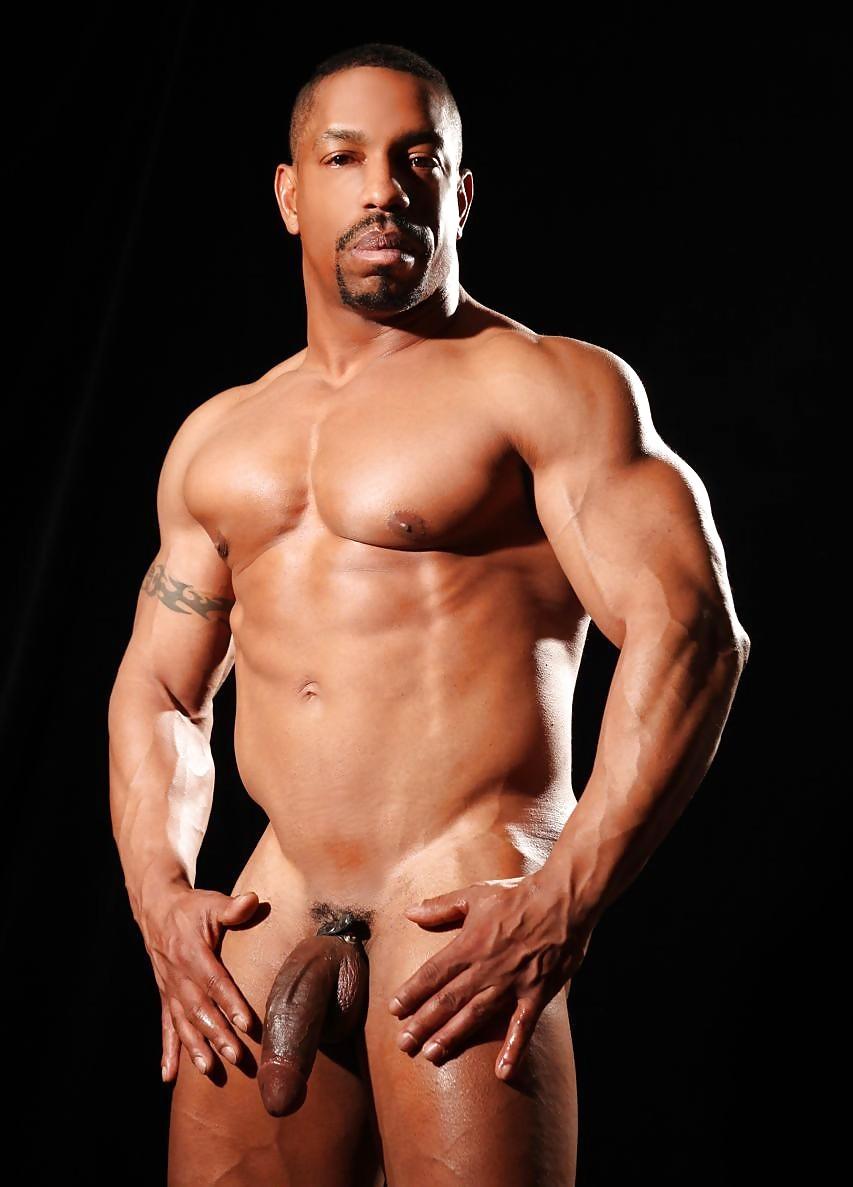 Free muscular black men naked