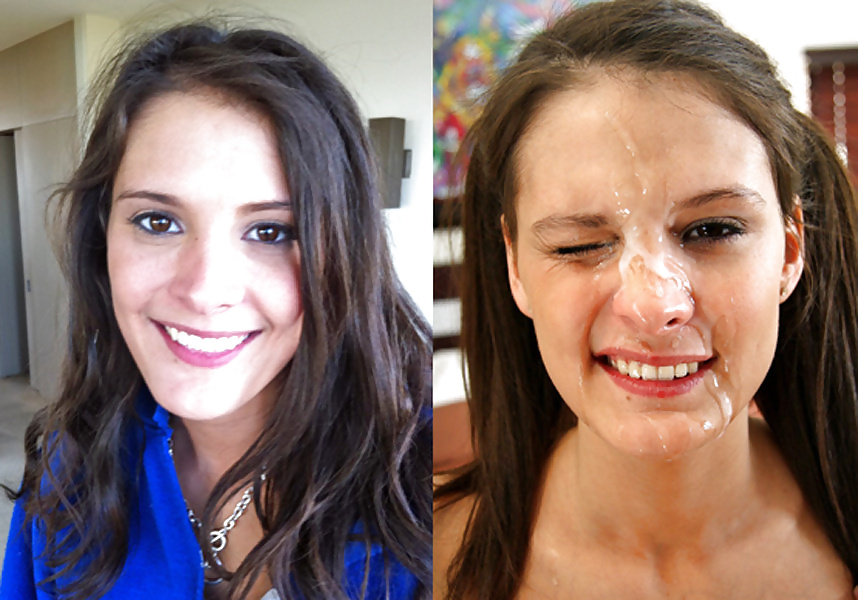 Before And After Cum Facial Compilation With Music