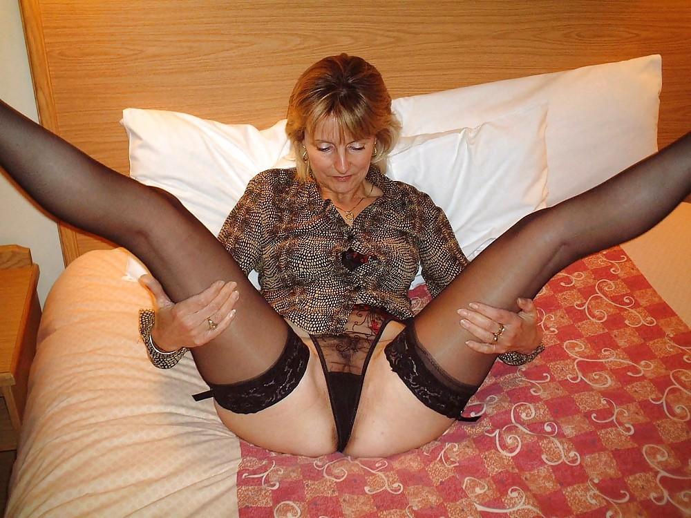 Mom In Nylon