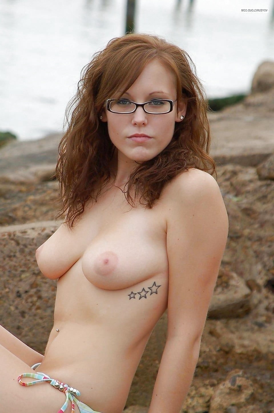 Nerdy naked chicks