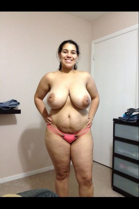 Naked big tit latina