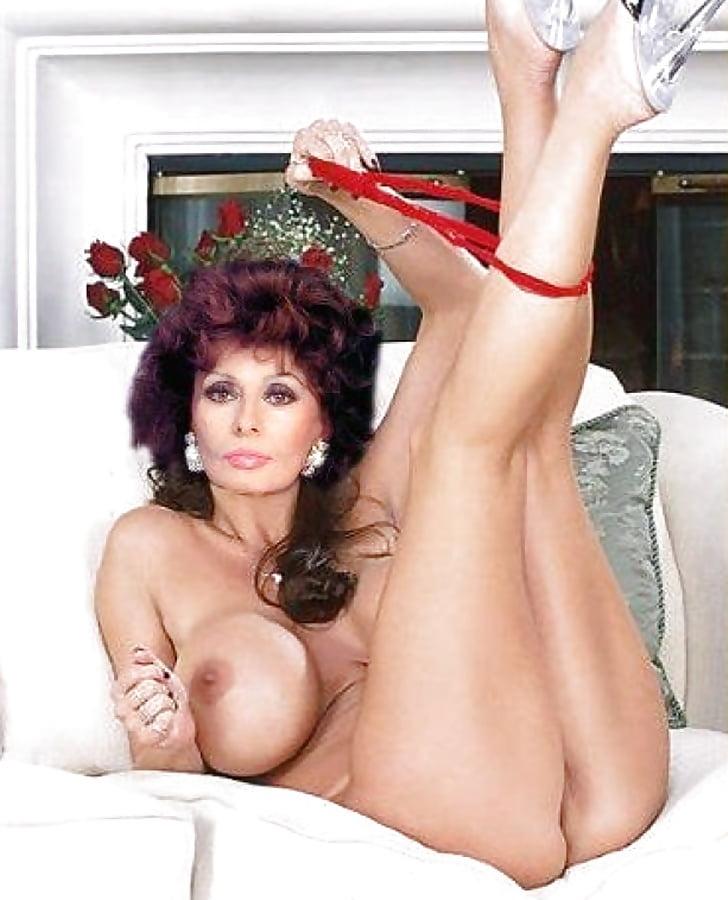 Raquel welch sophia loren nude