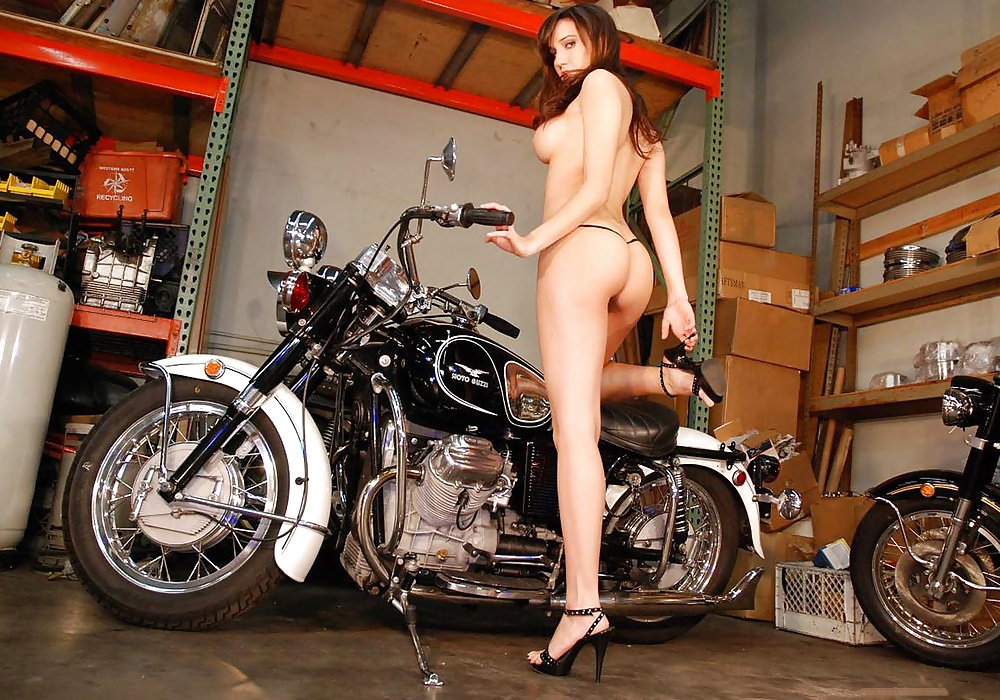 Bike with girl-9125