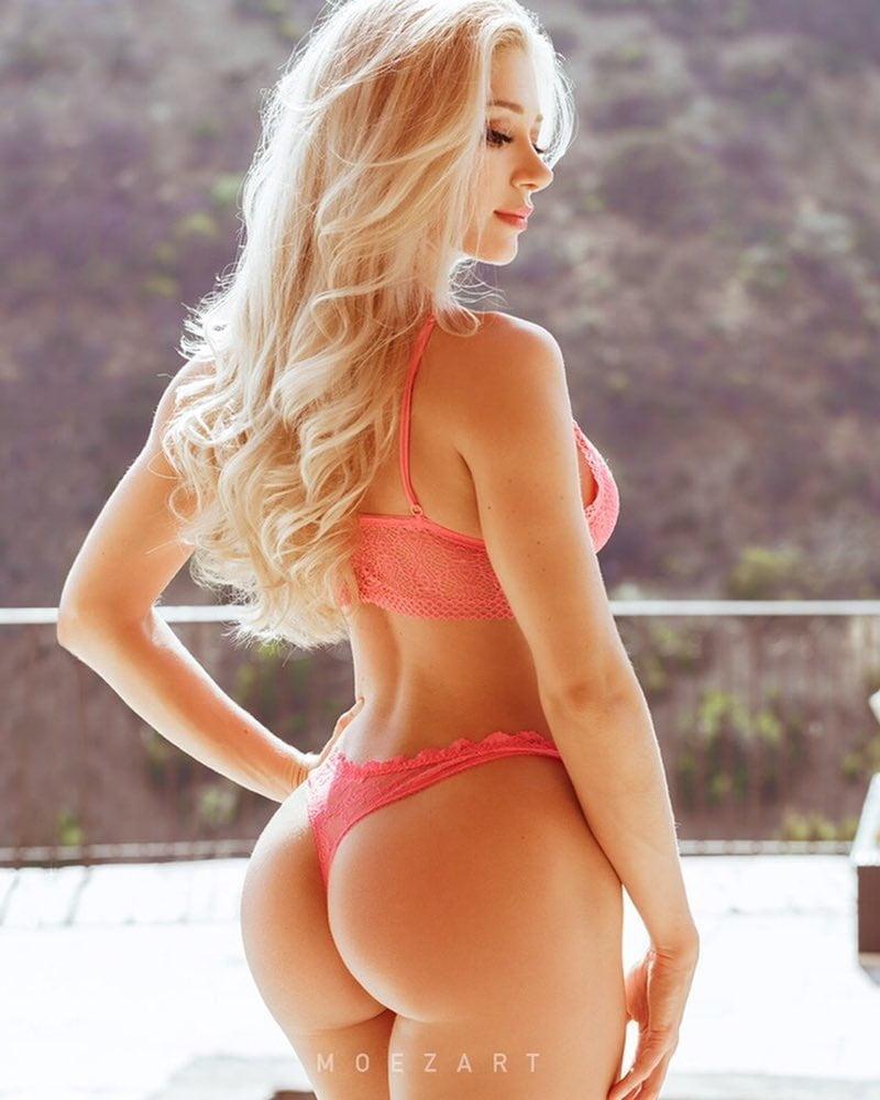 блондинки с большими попками - 4